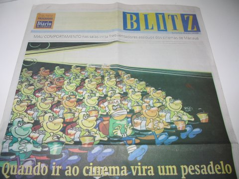 Diário do Amazonas, coluna Blitz: Quando ir ao cinema vira um pesadelo