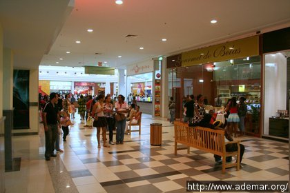 Interior Belas Shopping - Luanda