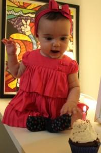 Sofia aos 7 meses de idade