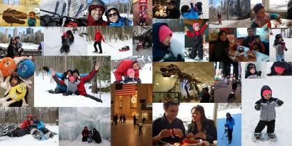 Mosaico de fotos - Viagem EUA 2014