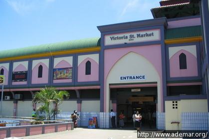Entrada do Victoria Street Market